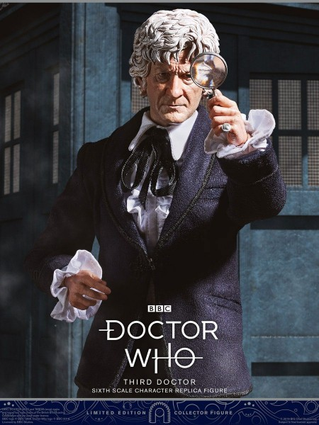Doctor Who Collector Figure Series Actionfigur 1/6 3rd Doctor (Jon Pertwee) Limited Edition