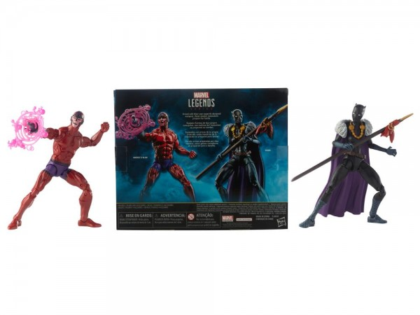 Black Panther Marvel Legends Actionfiguren Shuri & Klaw (2-Pack) Exclusive