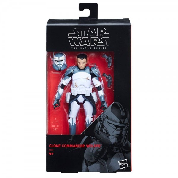 Star Wars Black Series Actionfigur 15 cm Clone Commander Wolffe (Exclusive)