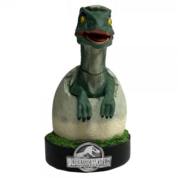 Jurassic World Premium Motion Statue Blue Raptor Hatchling