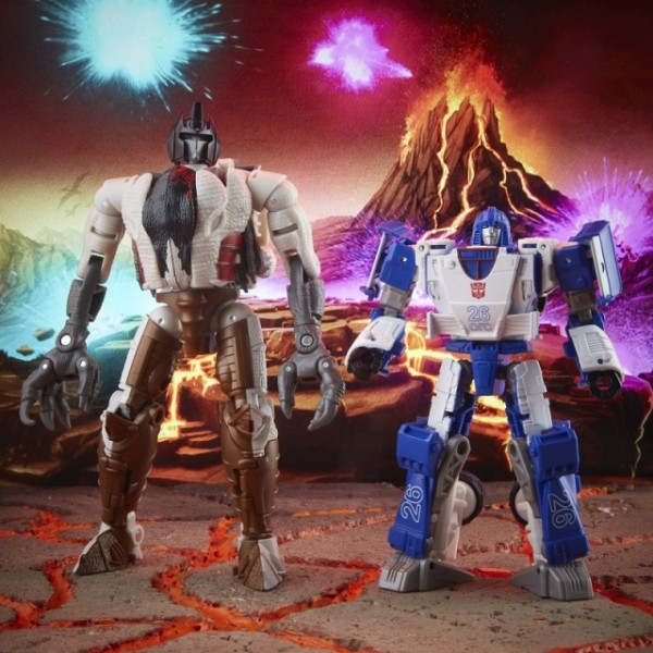 Transformers Generations War For Cybertron Trilogy Maximal Grimlock & Autobot Mirage (2-Pack) Exclus