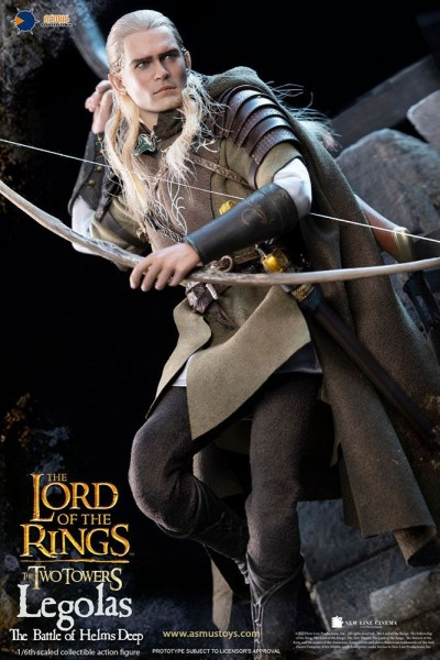 Herr der Ringe Actionfigur 1/6 Legolas (at Helm's Deep)