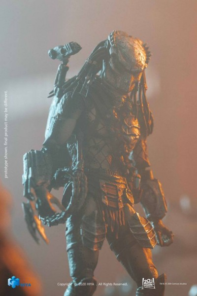 Alien vs. Predator 2 Exquisite Mini Actionfigur 1/18 Wolf Predator