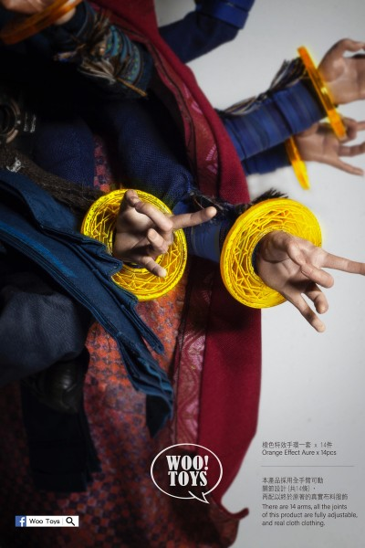 Woo Toys 1/6 The thousand Hands Zubehör By The Aura Magician (Option B)