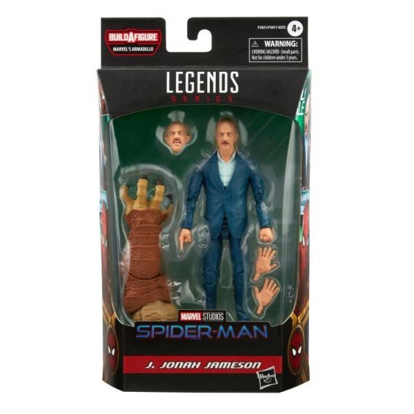 Spider-Man No Way Home Marvel Legends Actionfigur J. Jonah Jameson