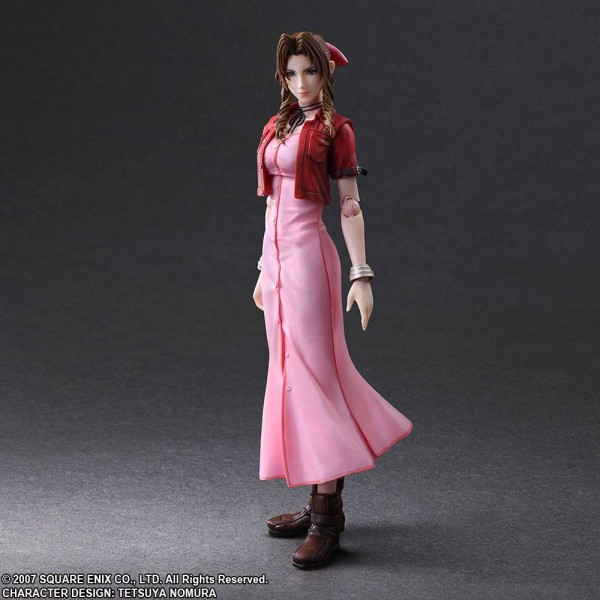 Crisis Core Final Fantasy VII Play Arts Kai Actionfigur Aerith Gainsborough
