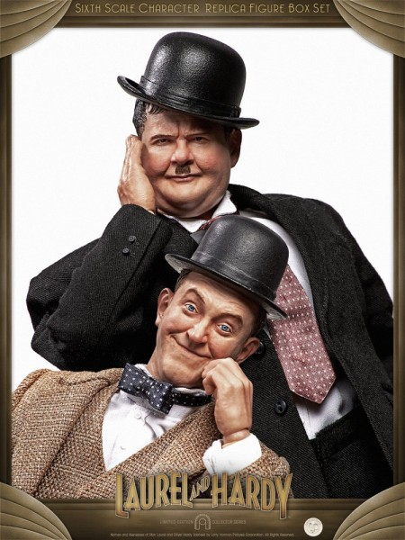 Laurel & Hardy Actionfiguren 1/6 Classic Suits (2-Pack) Limited Edition