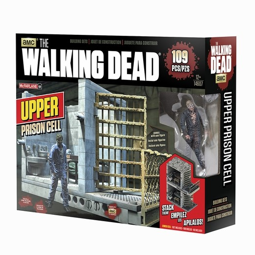 Walking Dead TV Building Set Gefängniszelle (oben)