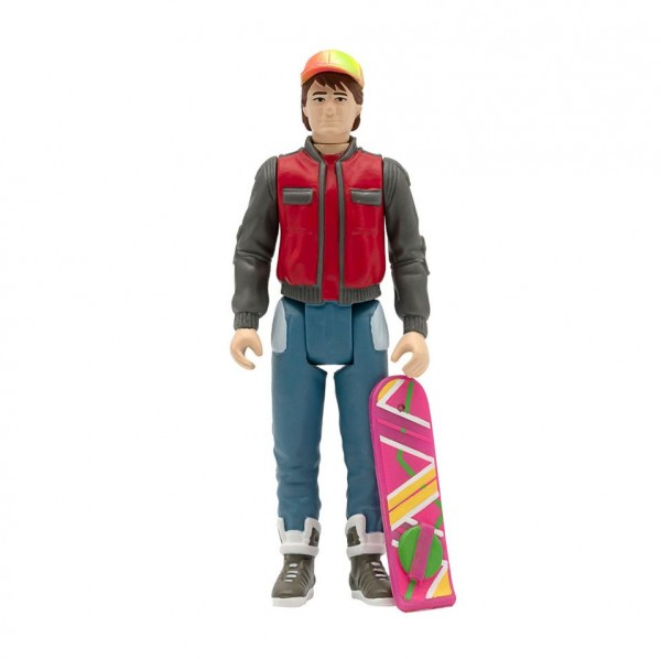 Back to the Future II ReAction Actionfigur Marty McFly (Future)