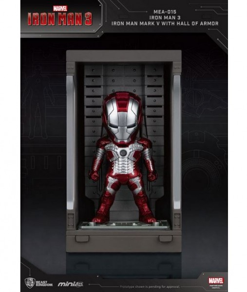 Iron Man 3 'Mini Egg Attack Action' Figur Hall of Armor Iron Man Mark V