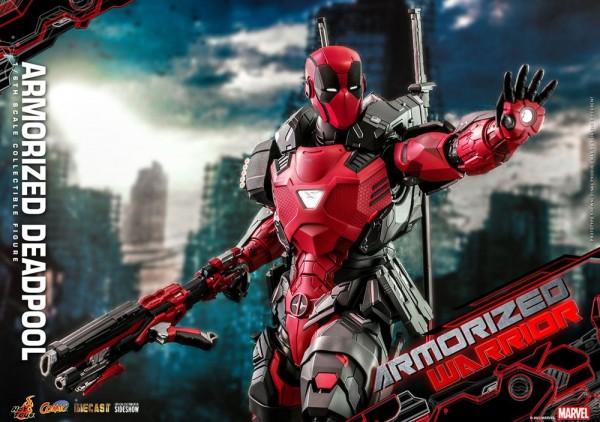 Marvel Comic Masterpiece Actionfigur 1/6 Armorized Deadpool