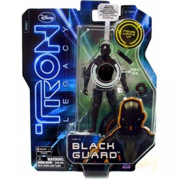 Tron Legacy Actionfigur Black Guard