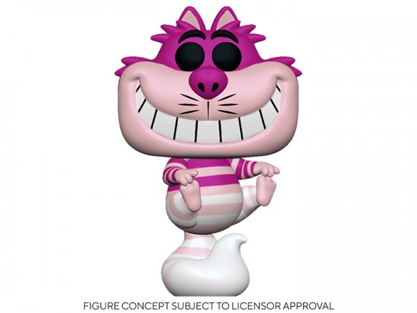 Alice in Wonderland 70th Anniversary Funko Pop! Vinylfigur Cheshire Cat (Translucent)