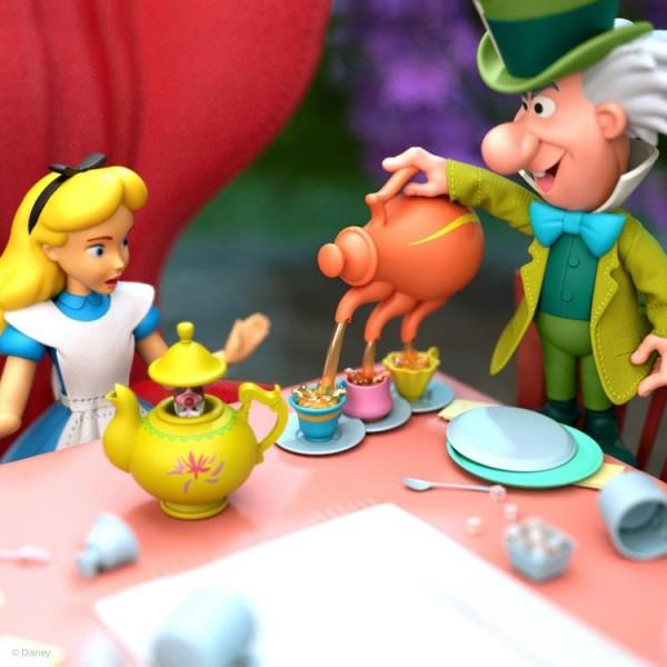 Disney Ultimates Actionfigur Mad Hatter (Alice in Wonderland)