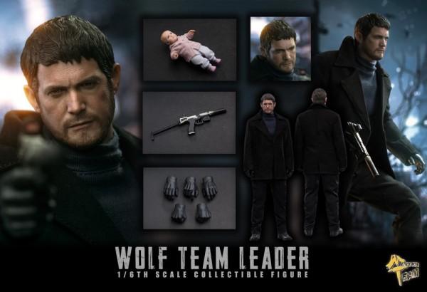 Master Team 1/6 Actionfigur Wolf Team Leader