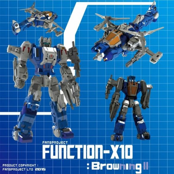 Fansproject Function X-10 - Browning II