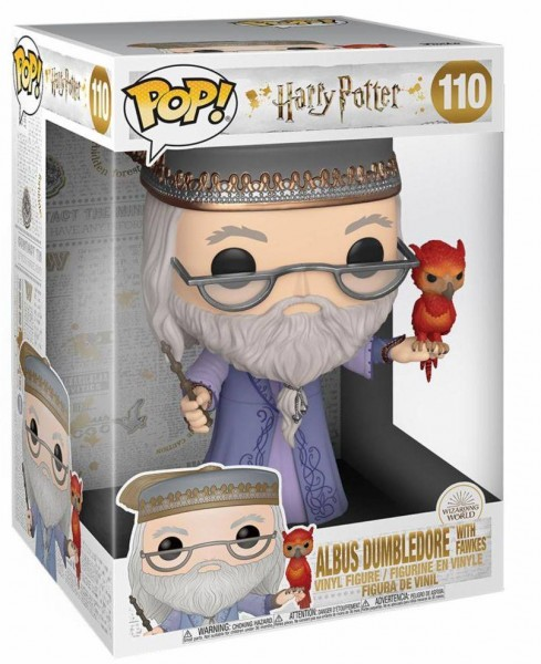 Harry Potter Funko Pop! Vinylfigur Dumbledore & Fawkes (Supersized)