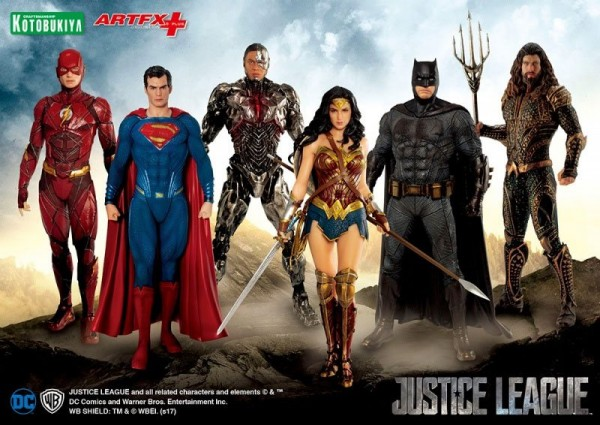Justice League Movie ARTFX+ Statue 1/10 Cyborg