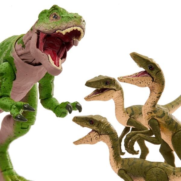 Jurassic World Fallen Kingdom Amber Collection Actionfigur 15 cm T-Rex & Compys