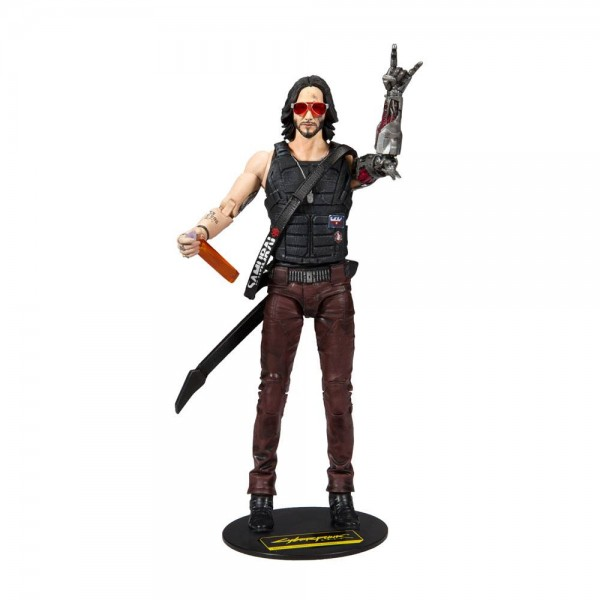 Cyberpunk 2077 Actionfigur Johnny Silverhand