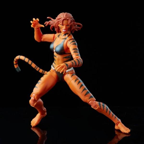 Marvel Legends Retro Actionfigur Tigra
