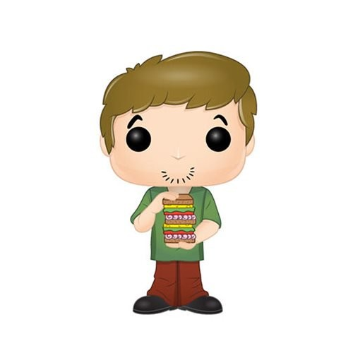 Scooby-Doo Funko Pop! Vinylfigur Shaggy (with Sandwitch)
