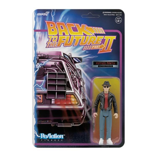 Back to the Future ReAction Actionfigur Marty McFly (1950s)