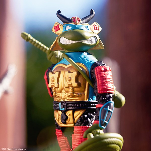 Teenage Mutant Ninja Turtles ReAction Actionfigur Samurai Leonardo