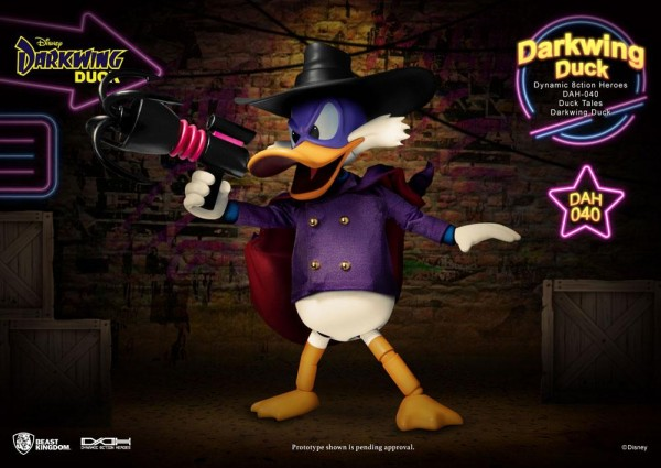 Darkwing Duck Dynamic 8ction Heroes Actionfigur Darkwing Duck