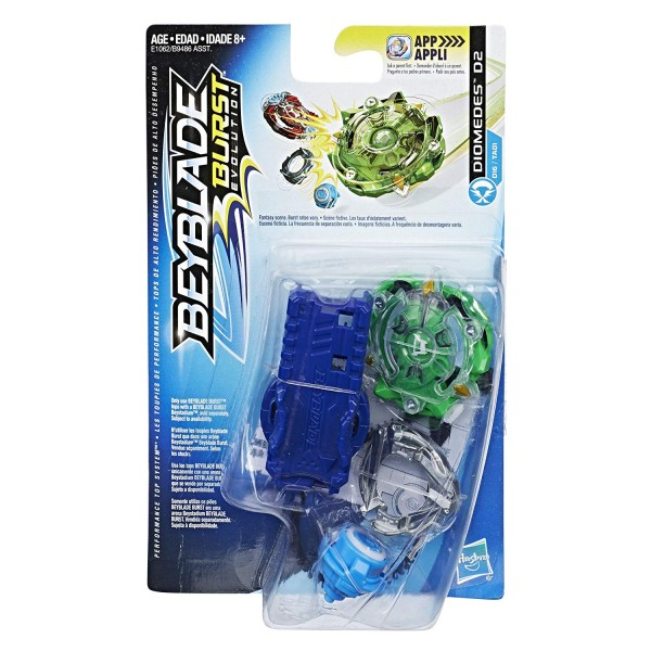 Beyblade Burst Evolution SwitchStrike Starter Pack DIOMEDES D2