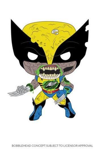 Marvel Funko Pop! Vinylfigur Zombie Wolverine