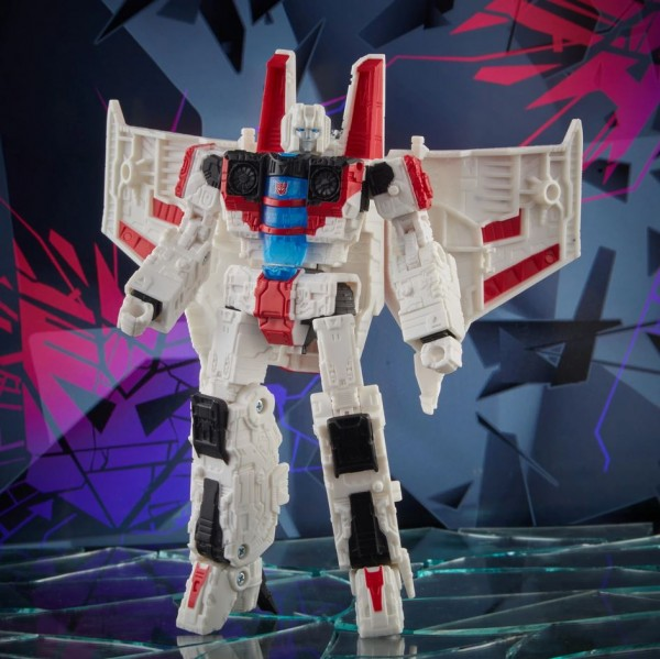 Transformers Shattered Glass Collection Voyager Starscream (Exclusive Variant Cover)