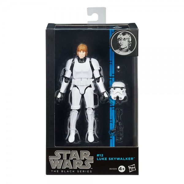 Star Wars Black Series Actionfigur 15 cm Luke Skywalker (Stormtrooper)