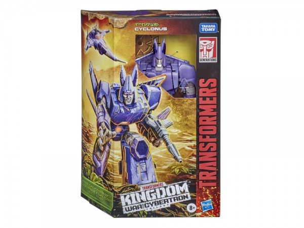 Transformers Generations War For Cybertron KINGDOM Voyager Cyclonus
