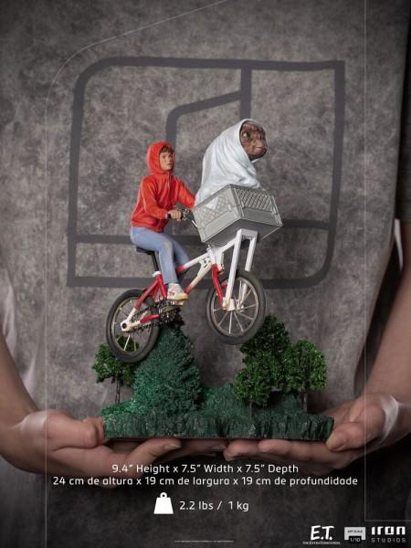 E.T. Der Außerirdische Art Scale Statue 1/10 E.T. & Elliot