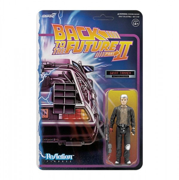 Back to the Future II ReAction Actionfigur Griff Tannen