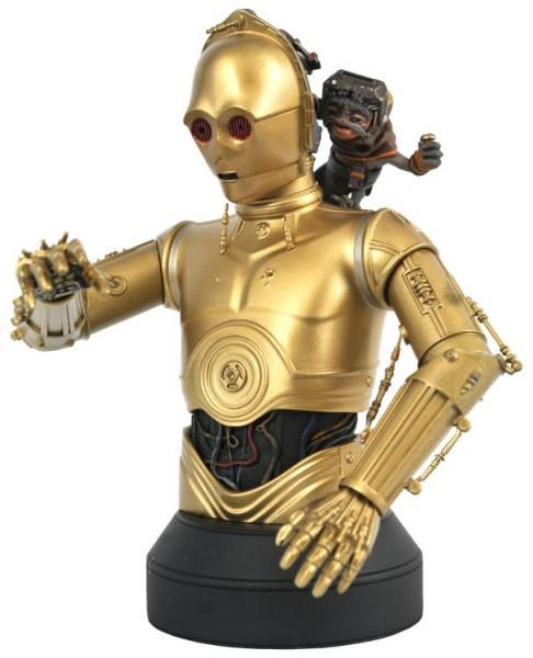 Star Wars Rise of Skywalker Büste 1/6 C-3PO & Babu Frik