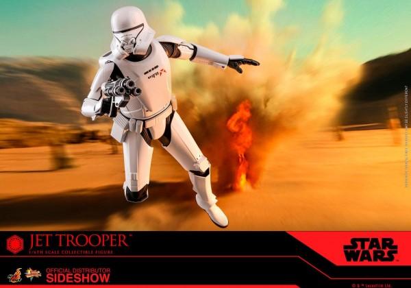 Star Wars Movie Masterpiece Actionfigur 1/6 Jet Trooper