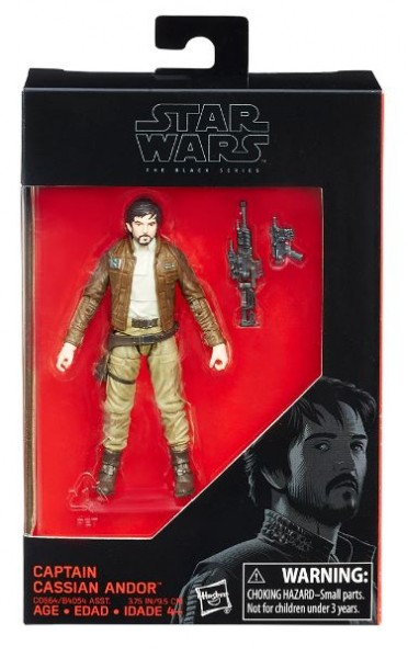Star Wars Black Series Actionfigur 10 cm Captain Cassian Andor (Rogue One) Exclusive