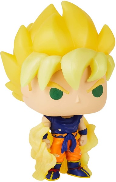 Dragon Ball Z Funko Pop! Vinylfigur Super Saiyan Goku (First Appearance) Glow-in-the-Dark (Exclusive