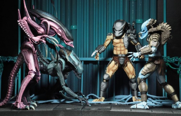 Alien vs. Predator Actionfiguren-Set Sortiment (Arcade Appearance) (3)