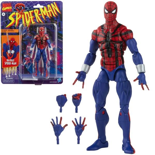 Spider-Man Marvel Legends Retro Actionfigur Ben Reilly Spider-Man