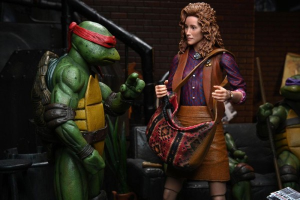 Teenage Mutant Ninja Turtles Actionfigur Ultimate April O'Neil (1990 Movie)