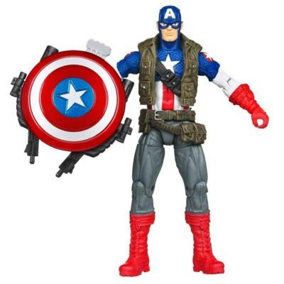 Avengers: Super Shield Captain America Actionfigur