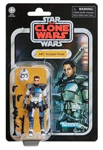 Star Wars Vintage Collection Actionfigur 10 cm Clone Trooper Fives