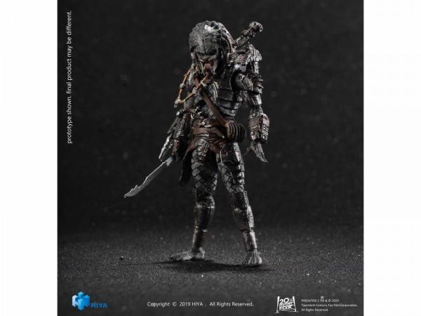 Predator 2 Actionfigur 1/18 Elder Predator (Version 2) Previews Exclusive