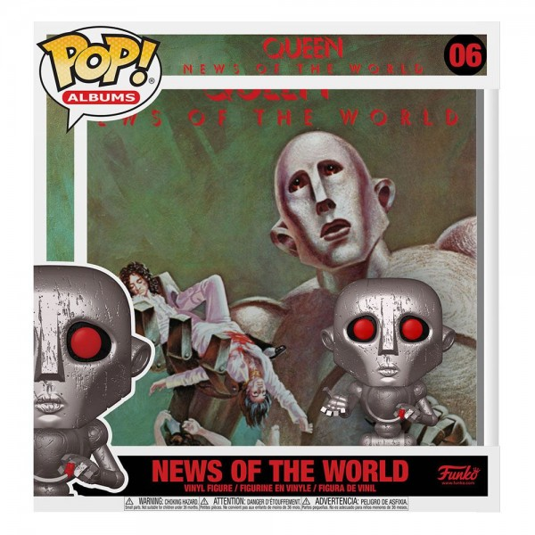 Queen Funko Pop! Albums Vinylfigur News of the World 06