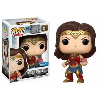 Justice League Movie Funko Pop! Vinylfigur Wonder Woman (with Mother Box) 211 Exclusive