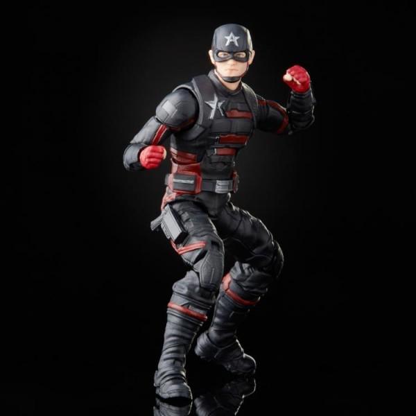 Avengers 2021 Marvel Legends Actionfiguren-Set Wave 1 Capt. America Flight Gear (7)