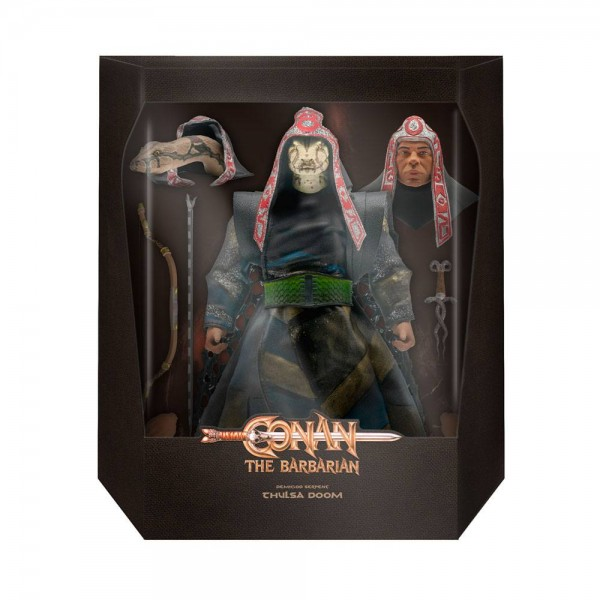 Conan der Barbar Ultimates Actionfigur Thulsa Doom (Demigod Serpant)